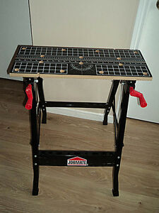 JobMate Adjustable Work Bench
