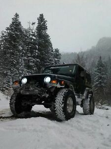 1999 lifted Jeep Tj sport