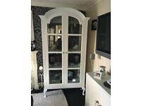 French amoire display cabinet or use wardobe £200 Ono b on Avon