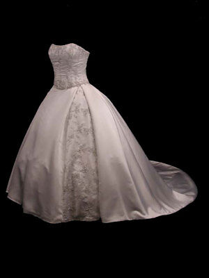 BREATHTAKING CINDERELLA TWO PIECE COUTURE BRIDAL GOWN WEDDING DRESS 12 - Cinderella Bridals