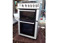 nearly new belling gas cooker