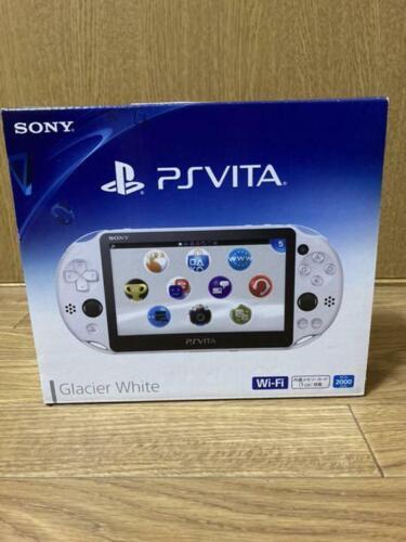 PlayStation+PS+Vita+PCH-2000+ZA22+Glacier+White+Console+Wi-Fi+model+SONY