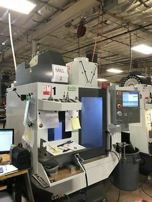 2016 Haas Dm-1 Vertical Machining Center Cnc Ref 7794264