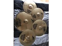 Sabian XS cymbals