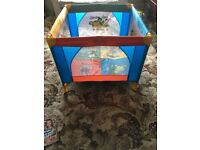 Babylo Safari multi coloured Playpen excellent condition