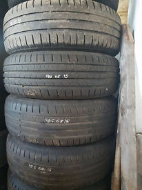 4 X 195/65/15 MATCHING TYRES