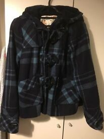 Top Shop Duffle Coat short size 10