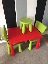 IKEA MAMMUT KIDS NURSERY FURNITURE