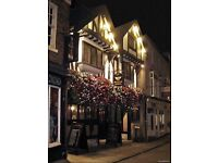 Pub chef and kitchen assistants required