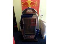 SUPER RARE Red Bull Gas Fuel Pump Refrigerator Fridge Cooler