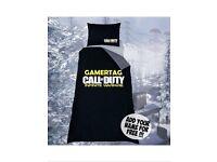 Call Of Duty ; Infinite Warfare Double Bedding