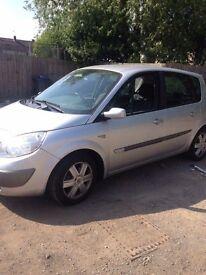 Renault scenic 1.6 spares or repairs