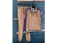 Gucci checkered tracksuits