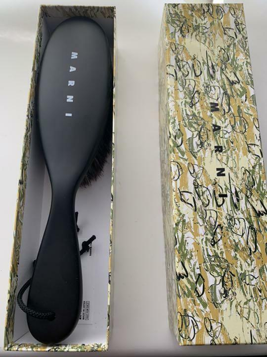 MARNI Horsehair Clothes Brush in Box Limited Edition Promo Gift Rare New