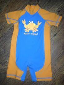 NEXT UNISEX BABY SWIM/PROTECTION SUIT