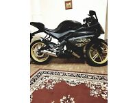 Yamaha yzf r125 with sports exhaust. QUICK SALE! SALE
