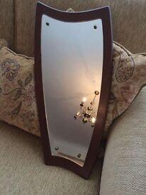 Vintage 1930s wall mirror