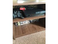 Play station 3 with 4 controllers and games