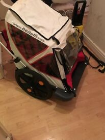 Bike trailer REDUCED £50 no offers