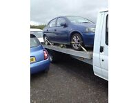 All Scrap cars and vans bought collection available 6 days a week