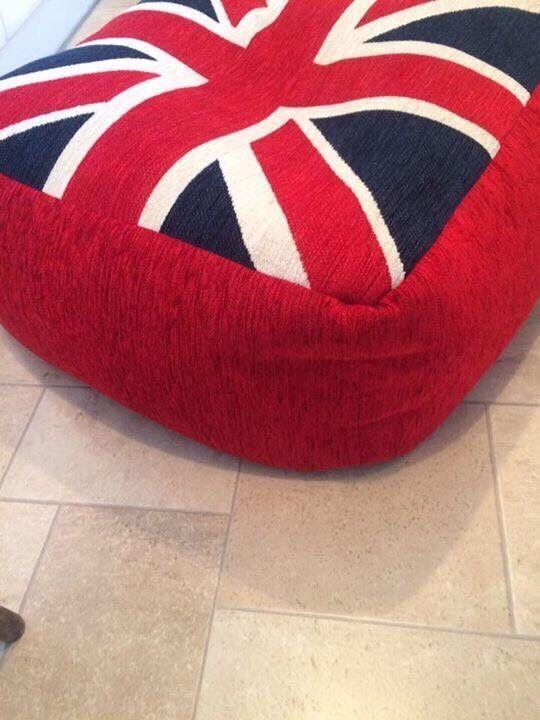 Bean Bag Floor Cushion Footstool