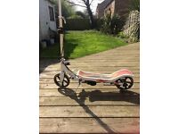 Pedal Ride Drift PU Swing Space Scooter X580