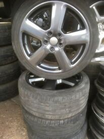 "18"" AUDI A3 S LINE ALLOY WHEELS / TYRES"