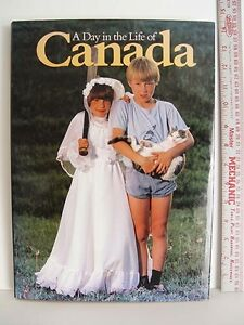 Photography coffee table book:  A Day in the Life of Canada