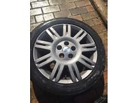 4 x 17 inch Ford Mondeo/ Focus/ Transit Connect other ALLOY WHEELS