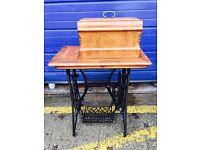 Stunning Rare Antique Frister & Rossman Treadle Sewing Machine