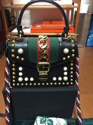 Gucci Sylvian Bags Extremely  Rare world limited to 6 pieces! From JAPAN F/S