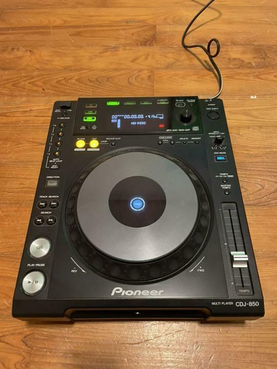NEW Factory BOX SET!! - Pioneer CDJ-850-K Turntable CDJ unused from Japan