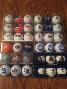 Collectible golf balls