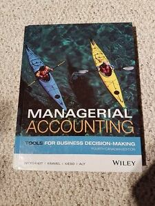 Managerial Accounting 4th Canadian Edition