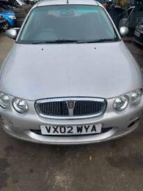 BREAKING Rover 25 Impression S2 1.4l Silver Hatchback Door glass window front rear offside nearside