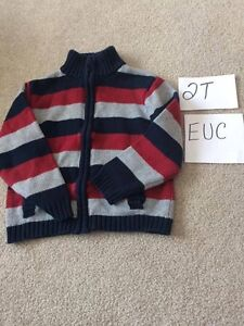 Boys Name Brand Sweater Lot - Size 2T