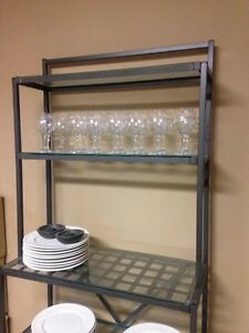 Glass Baker's Shelf