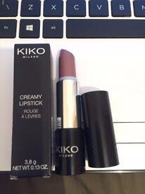 Kiko Milano Creamy Lipstick Shade 01 Rosy Taupe