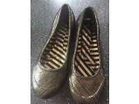 Irregular Choice flat shoes size 4/37