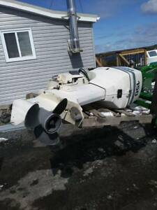 150 Hp. Johnson Ocean Runner Outboard With Controls