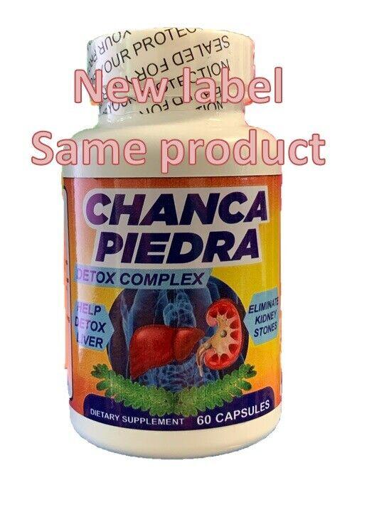 CHANCA PIEDRA EXTRACT 1000mg Peruvian Gallstones Liver Kidney Stones Breaker USA 1