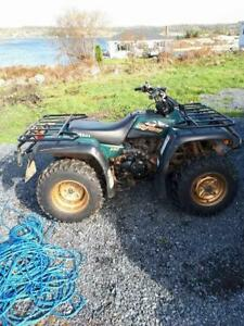 1998 Yamaha 350 Big Bear Special Addition in very good condition