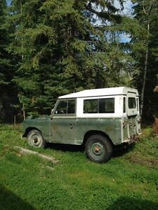 '61 series IIa Land Rover project (UPDATED)