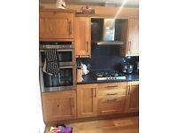 13pc real wood oak shaker style kitchen