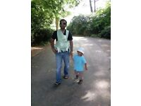 Close baby carrier/ sling