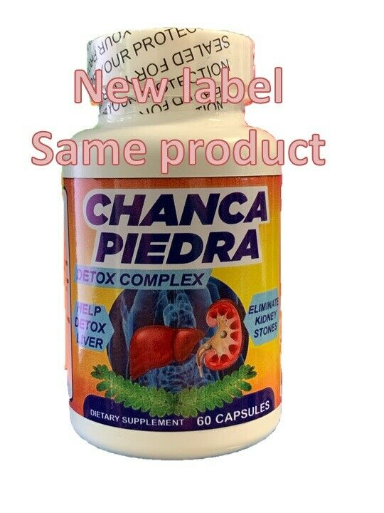 Stone Breaker Chanca Piedra Dissolver Cleanse Fight Kidney Gallbladder Pain fast 2
