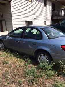 For sale 2002 Saturn car , can be reached at home #778-470-3358