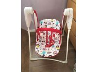 Graco baby swing / rocker