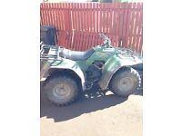 Kawasaki klf 300 4x4 quad swap / sale