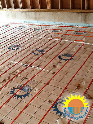 In-slab Diy Radiant Heat Kit 5000 Sqft.